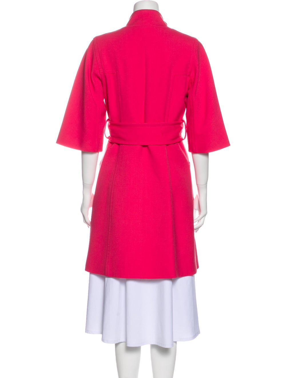 Milly Trench Coat Pink - image 3