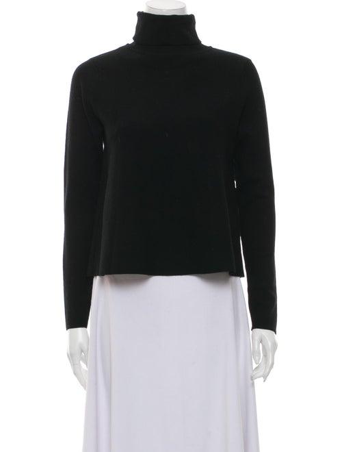 Milly Turtleneck Sweater Black