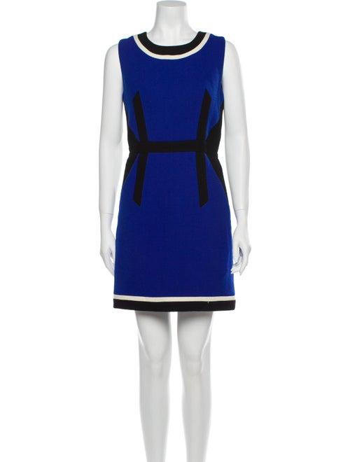 Milly Wool Mini Dress Wool