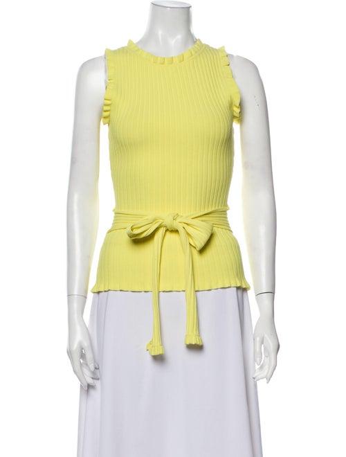 Milly Crew Neck Sweater Yellow
