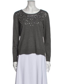 Milly Scoop Neck Sweater