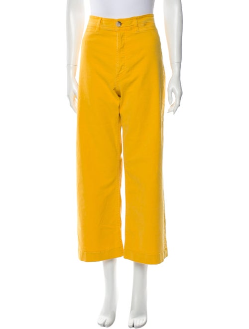 M.i.H Jeans High-Rise Wide Leg Jeans Yellow