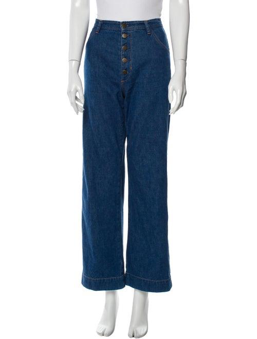 M.i.H Jeans High-Rise Wide Leg Jeans Blue