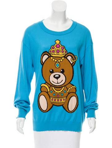 Moschino Couture Oversize Graphic Sweater None