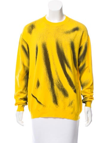 Moschino Couture Graphic Wool Sweater None