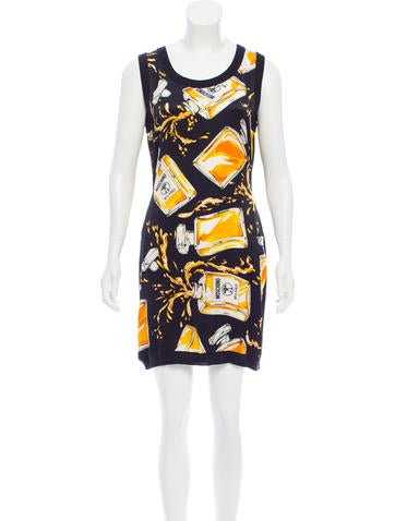 Moschino Couture Wool & Silk Mini Dress None