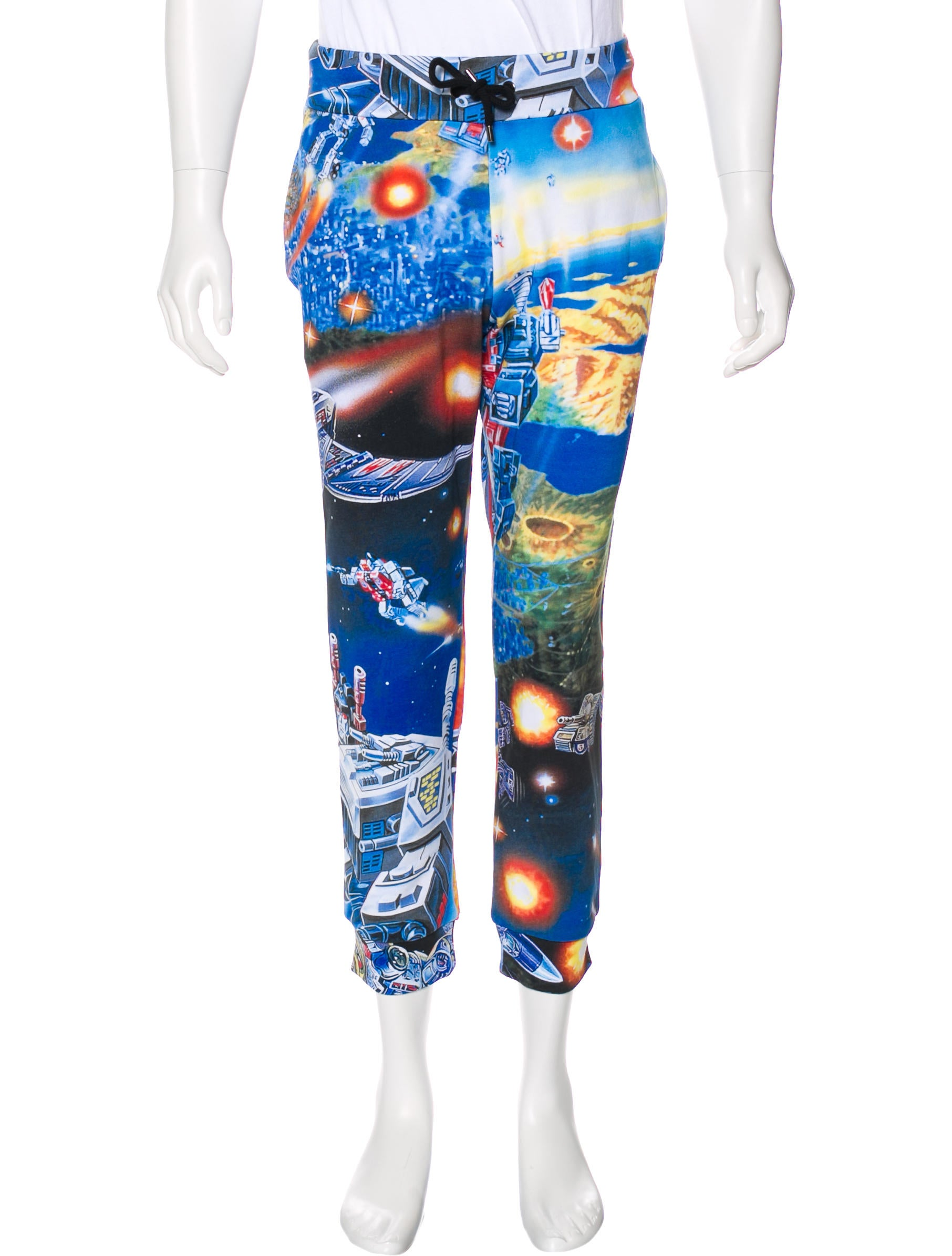 Mens Clothing On Sale, Transformers, Multicolor, Cotton, 2017, 30 Moschino