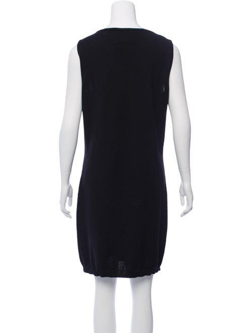 Virgin Wool Knee-Length Dress