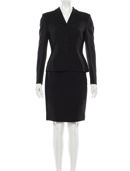 Moschino Couture Skirt Suit Black