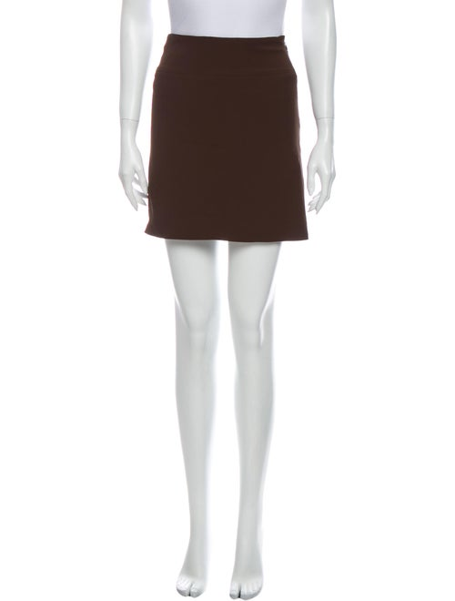 Moschino Couture Mini Skirt Brown