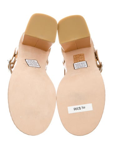 Leather Multistrap Sandals w/ Tags