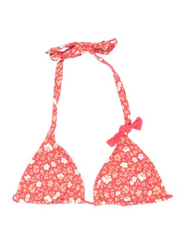 Marc by Marc Jacobs Floral Bikini Top w/ Tags None