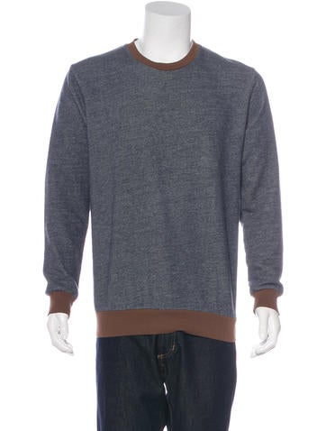 Marc by Marc Jacobs Heathered Crew Sweatshirt None