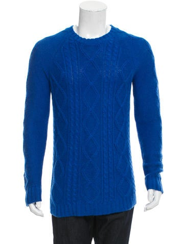 Marc by Marc Jacobs Alpaca & Silk-Blend Sweater None
