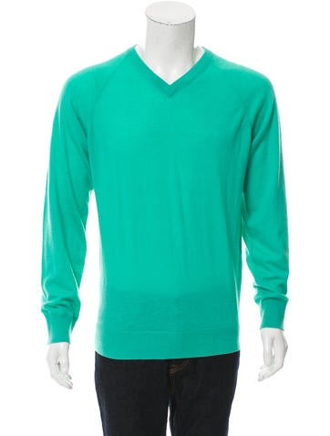 Marc by Marc Jacobs Cashmere V-Neck Sweater None