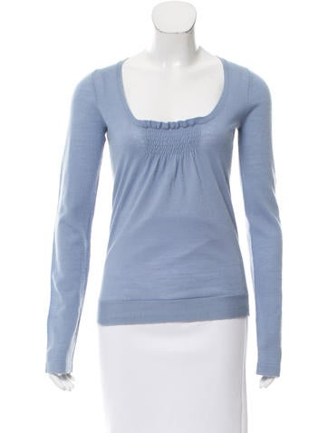 Marc by Marc Jacobs Wool Long Sleeve Top None