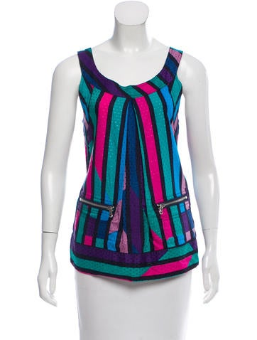 Marc by Marc Jacobs Striped Sleeveless Top None