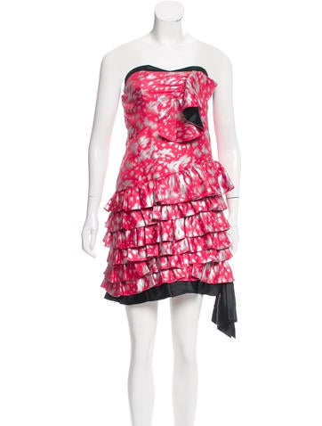 Marc by Marc Jacobs Silk Strapless Dress w/ Tags None