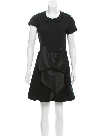Marc by Marc Jacobs Wool Mini Dress None