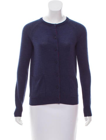 Marc by Marc Jacobs Wool Rib-Knit Cardigan None