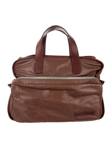 Marc by Marc Jacobs Leather Briefcase None