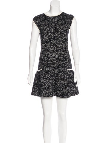 Marc by Marc Jacobs Patterned Mini Dress None