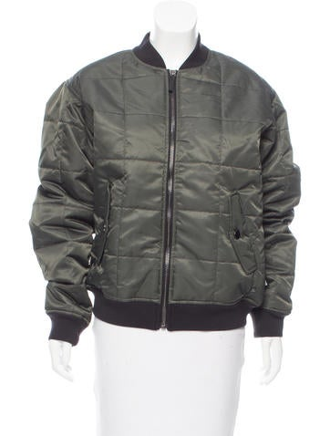 Marc by Marc Jacobs Zip-Up Bomber Jacket None