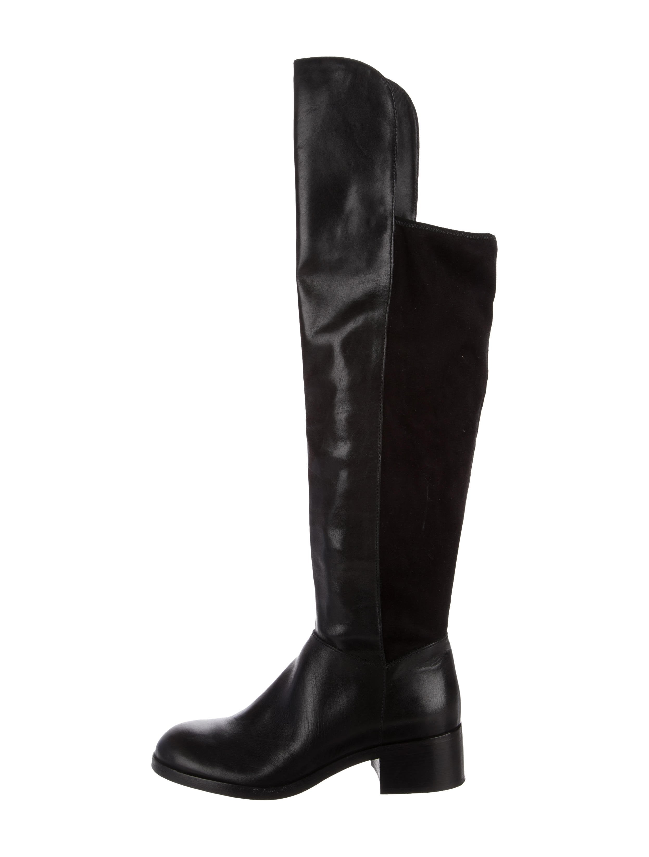Marc by Marc Jacobs Marc Jacobs Knee-High Round-Toe Boots outlet locations cheap online LtMW7kOiy