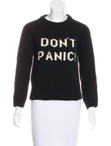 Marc by Marc Jacobs Wool Rib Knit Sweater None