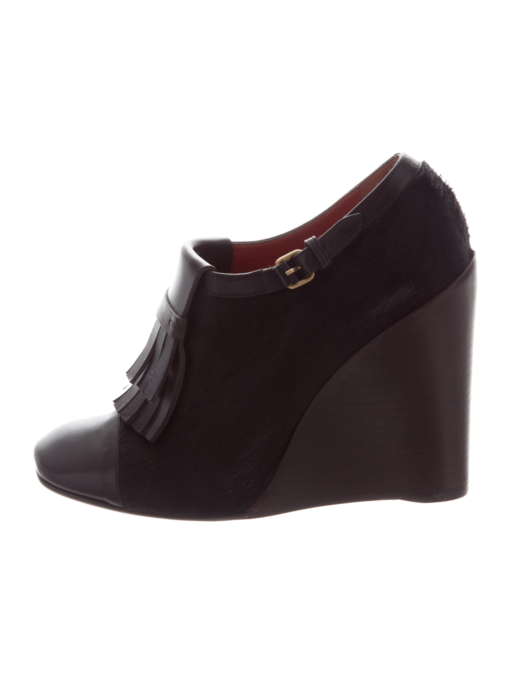 Marc by Marc Jacobs Ponyhair Kiltie Wedges best place to buy online buy cheap low price fee shipping buy cheap free shipping real online WhVa8v