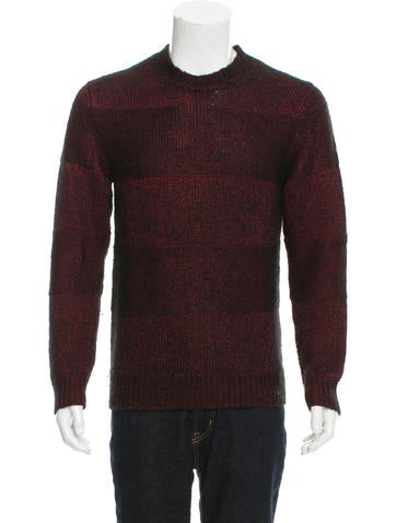 Marc by Marc Jacobs Rib Knit Crew Neck Sweater None