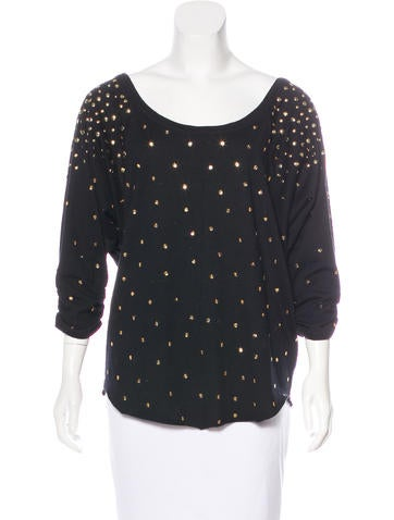 Marc by Marc Jacobs Wool-Blend Top None
