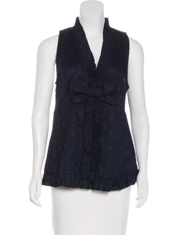 Marc by Marc Jacobs Sleeveless Bow Top None
