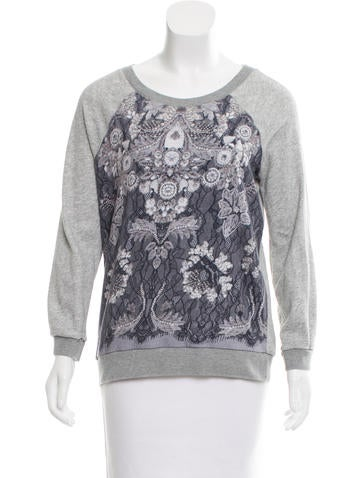 Marc by Marc Jacobs Printed Crew Neck Sweatshirt None