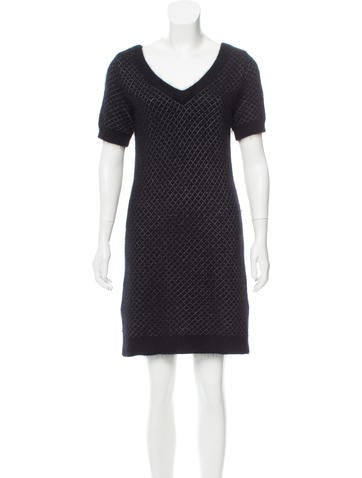 Marc by Marc Jacobs Jacquard Knit Dress None