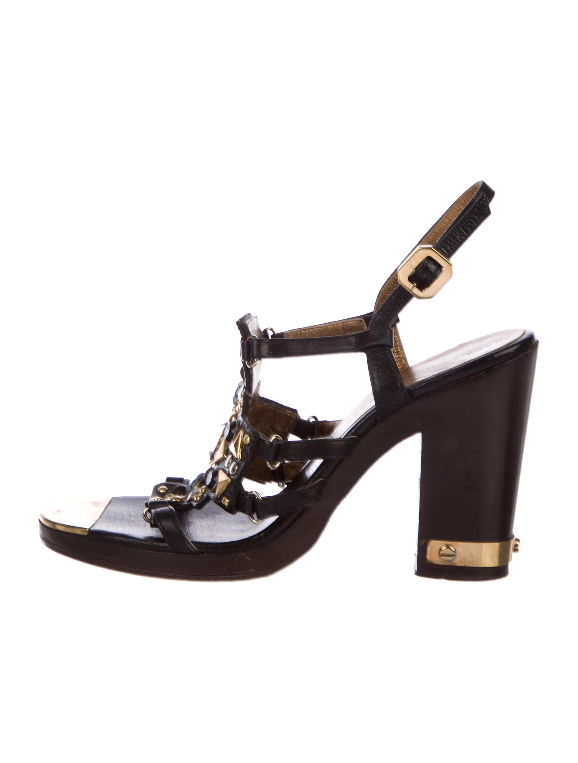 pay with visa cheap price Marc by Marc Jacobs Embellished Multistrap Sandals official online sale wholesale price NRkH3