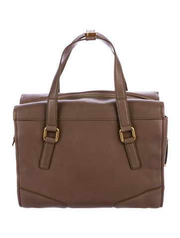 Smooth Leather Satchel