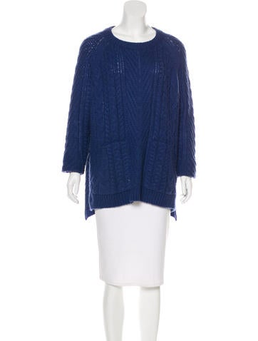 Marc by Marc Jacobs Wool-Blend Cable Knit Sweater None