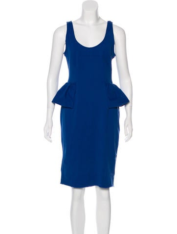 Marc by Marc Jacobs Sleeveless Knee-Length Dress None