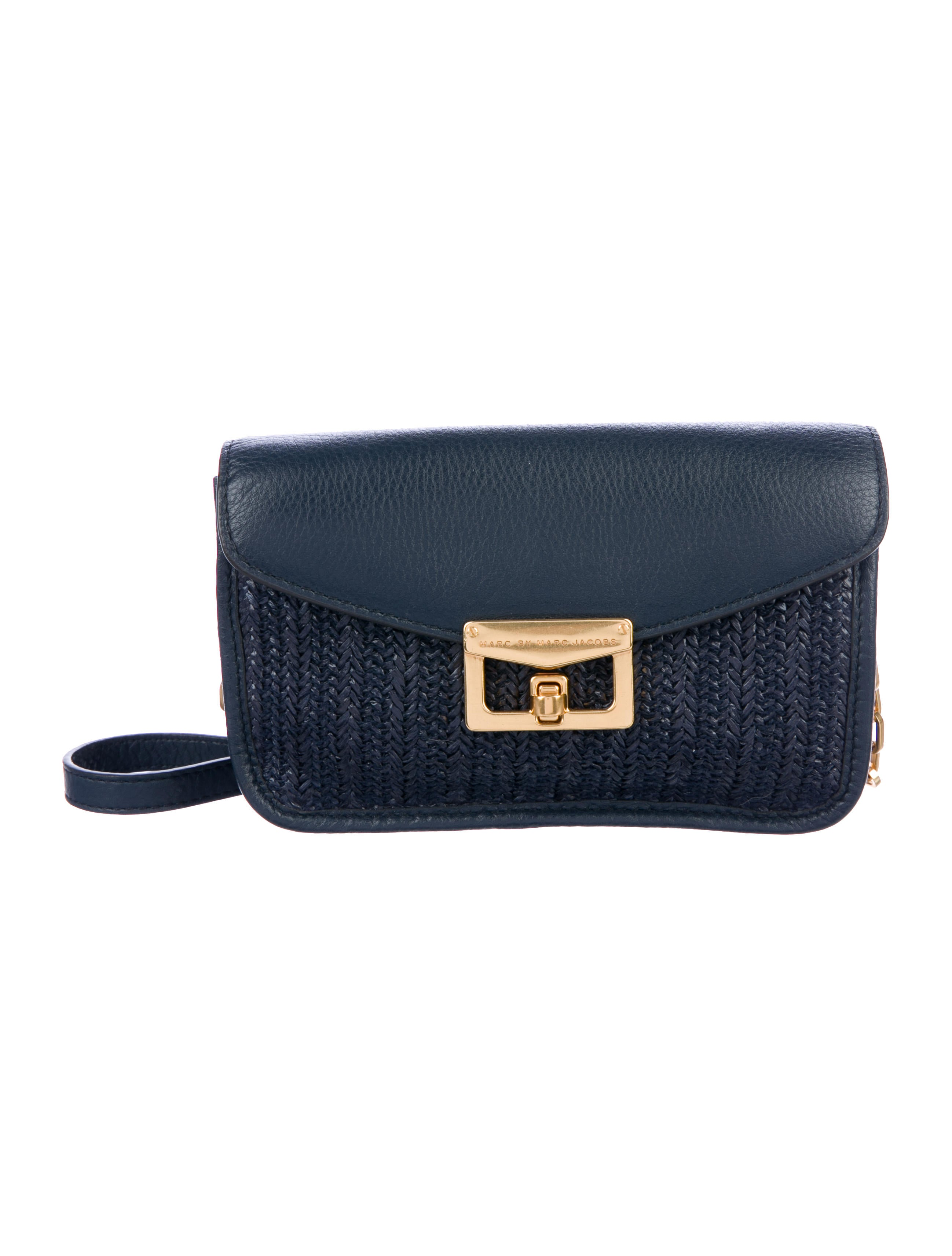 27be1cf4fdfd Crossbody by Link Bag amp  Chain Jacobs Leather Woven Marc Marc gn74qOO ...