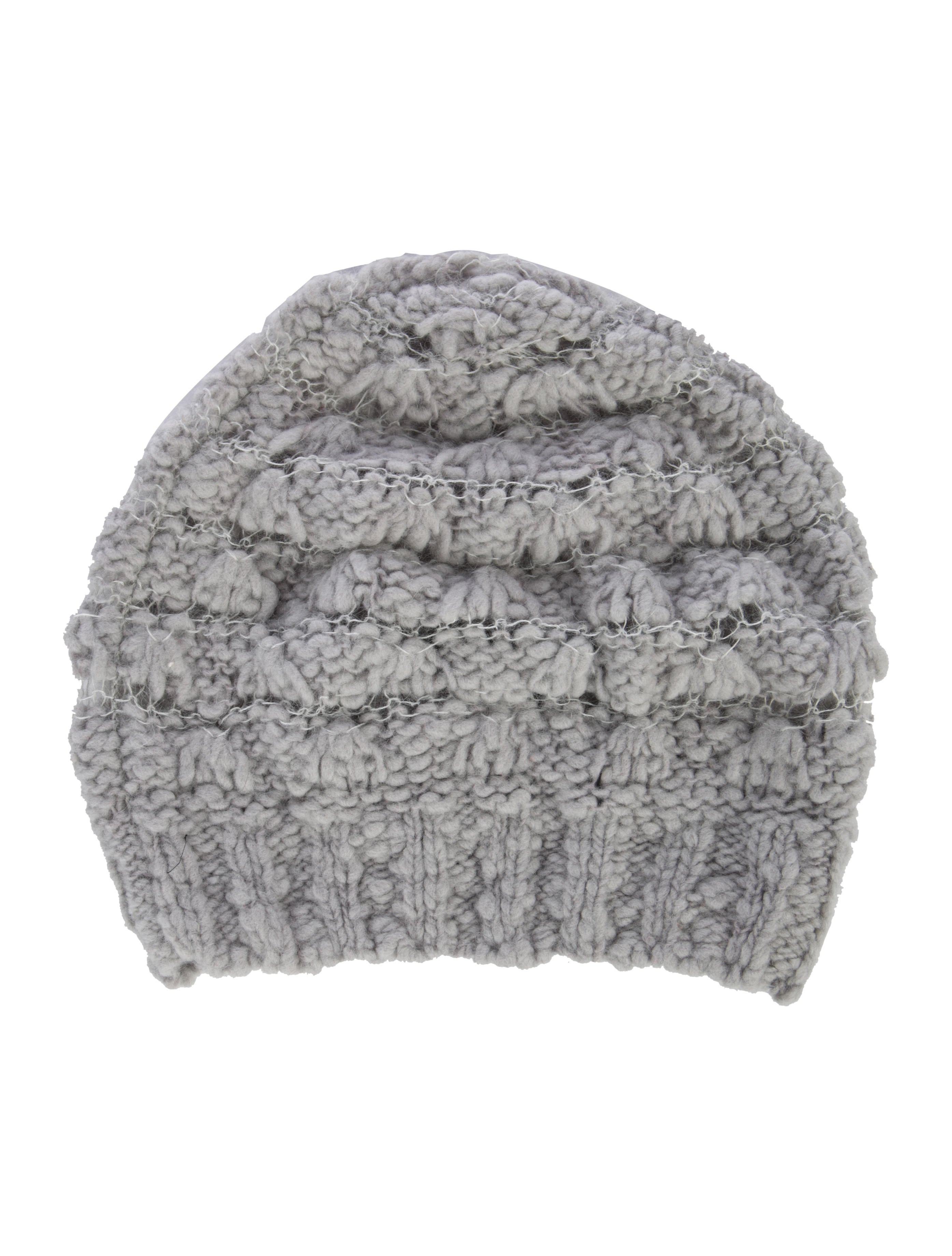Marc by Marc Jacobs Wool Open Knit Beanie - Accessories - WMA29090 ... 1fb0b67b87a