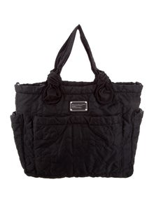 ab064e6b80bb Marc by Marc Jacobs. Eliza Quilted Nylon Diaper Bag