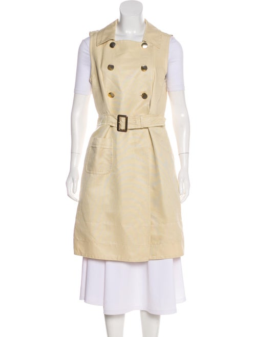 Marc by Marc Jacobs Sleeveless Knee-Length Coat w/