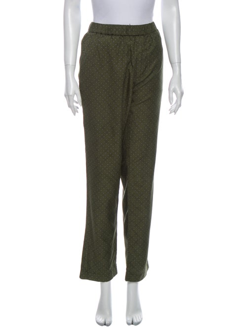 Marc by Marc Jacobs Printed Straight Leg Pants