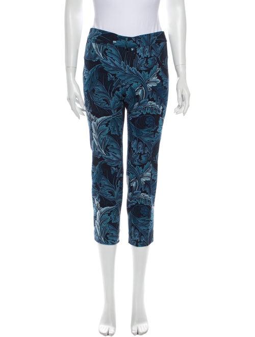 Marc by Marc Jacobs Printed Straight Leg Pants Blu