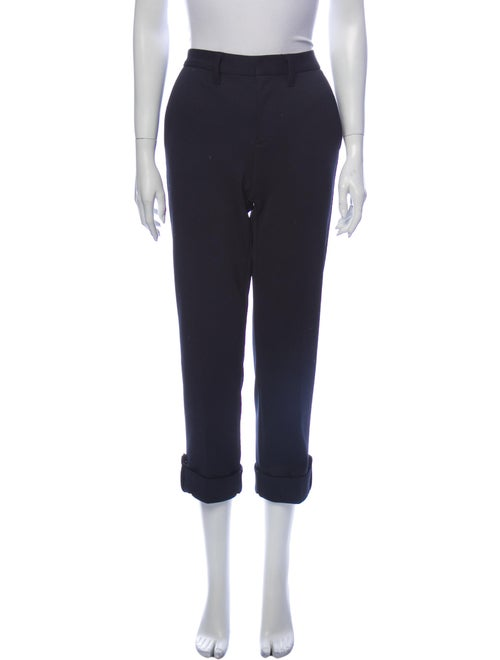 Marc by Marc Jacobs Straight Leg Pants Blue