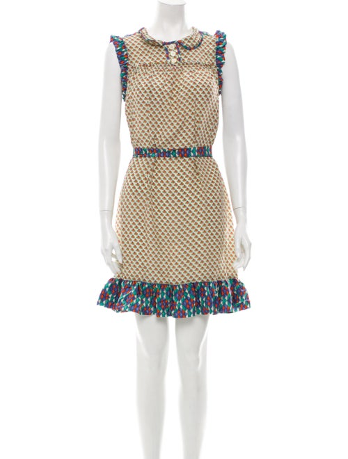 Marc by Marc Jacobs Silk Mini Dress