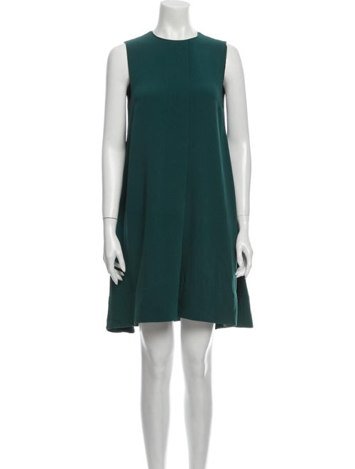 Marc by Marc Jacobs Crew Neck Mini Dress Green