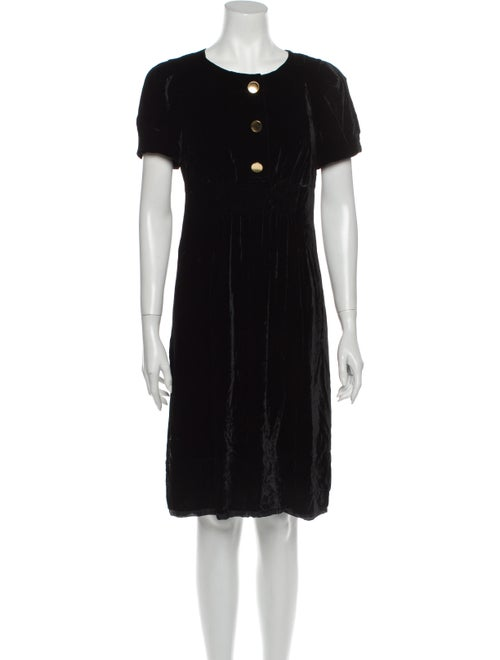 Marc by Marc Jacobs Crew Neck Knee-Length Dress Bl