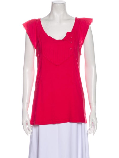 Marc by Marc Jacobs Scoop Neck Short Sleeve T-Shir